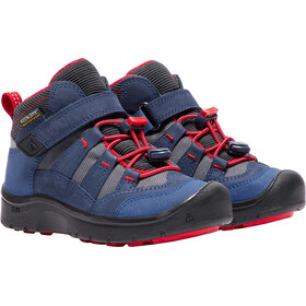Keen Hikeport Mid WP Zapatillas Niños, dress blues/firey red